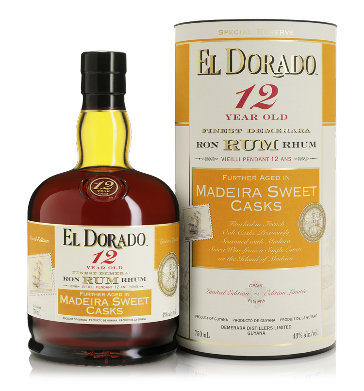 12 Year Old Aged in Madeira Sweet Casks