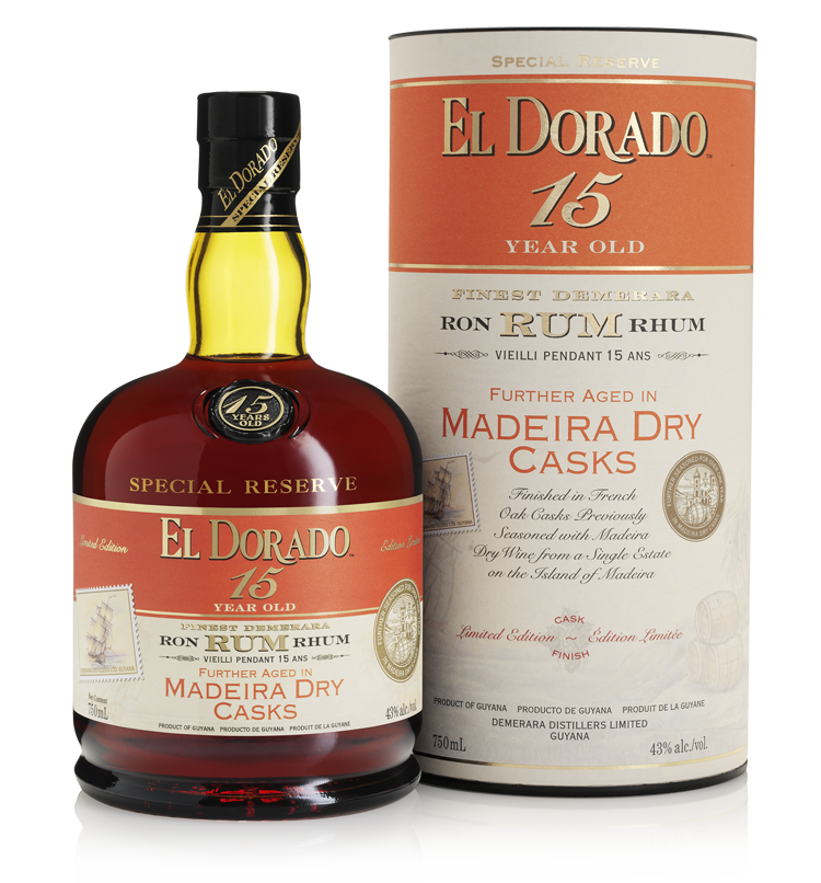 15 Year Old Aged in Madeira Dry Casks