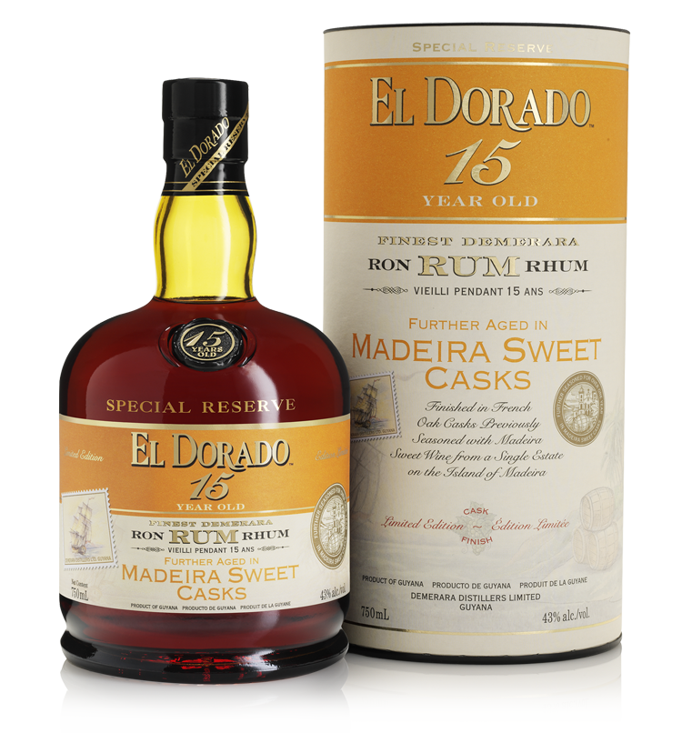 15 Year Old Aged in Madeira Sweet Casks