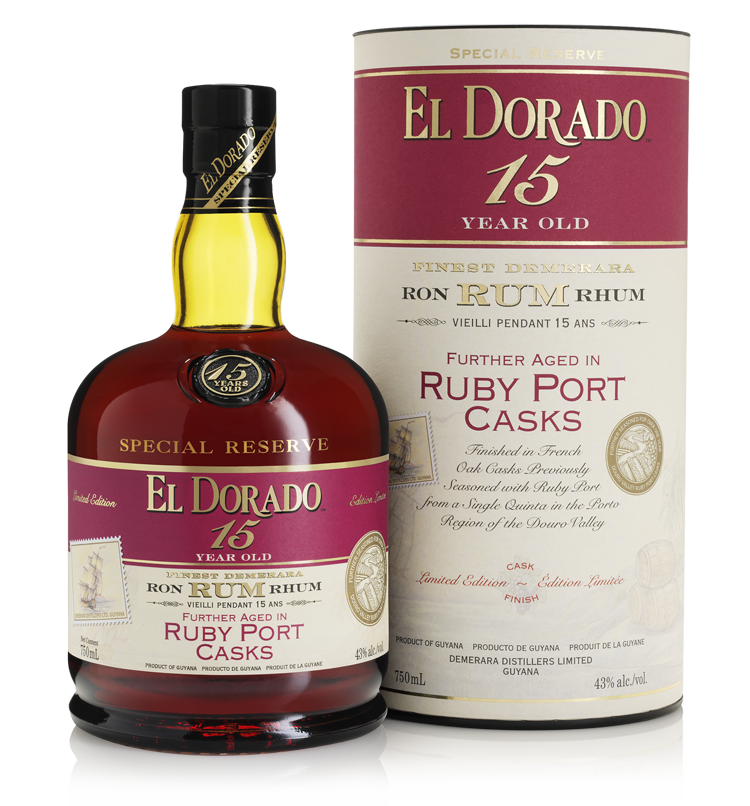 15 Year Old Aged in Ruby Port Casks